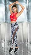 Jcross Sexy High Waisted Workout Colombian Leggings With Mesh -for Yoga Gym