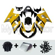 Motorcycle Abs Fairings Fit For Suzuki Gsxr600 750 2000 2001 02 2003 Yellow Kit