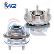 For Chevy Gmc Jimmy S10 Blazer Sonoma 2 New Front Wheel Hub Bearings 4wd 513061