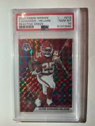 Clyde Edwards Helaire Rookie Card Reactive Green Psa 10 Rare Opportunity