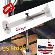 28and039and039adjustable Alu Table Leg Andbase Pedestal Stand For Bar Rv Boat Caravan Silver