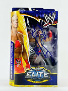 Shawn Michaels Signed Wwe Wrestlemania 30 Elite Collection Action Figure Photo