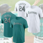 Ken Griffey1 Jr. Seattle1 Mariners1 Cooperstown Collection Name And Number T-shirt