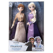 Disney Toys Frozen 2 Snow Princess Elsa And Queen Young Anna Olaf Anna Doll In Box