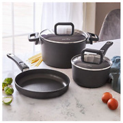 Pampered Chef 5-piece Nonstick Cookware Set - Free Shipping