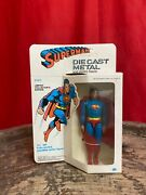 Superman 1979 Die Cast Metal 91505 Limited Collectorandrsquos Edition 5 1/2andrdquo Tall Rare