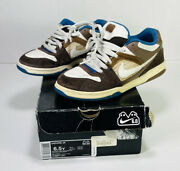Authentic Nike Oncore Jr 6.0 316871 211 Size 6.5y Youth White Blue Brown