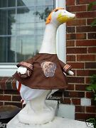 Krafty Goose Clothes Lawn Cleveland Browns Football Fits Cement And Plastic Cotton