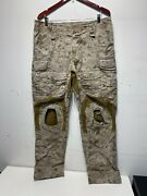 Crye Precision G3 Combat Pants Size 36r Aor1 W/ Knee Pads Seal Navy Custom Nsw