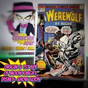 Werewolf By Night 32 1st Appearance Of Moon Knight. Disney+ Show Coming Soon