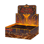 Crucible Of War Unlimited Edition Booster Box - Flesh And Blood Tcg - Brand New