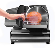 New Commercial Grade Electric Meat Slicer Deli Cheese Food Cutter Kitchen Tool