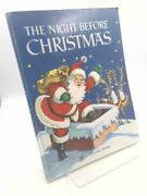 The Night Before Christmas Big Golden Book By Moore Clement Clarke