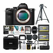 Sony Alpha A7 Ii Mirrorless Digital Camera Body Only And Accessories Bundle