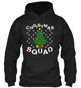 Christmas Holiday Squad Tree Apparel Classic Pullover Hoodie - Poly/cotton Blend