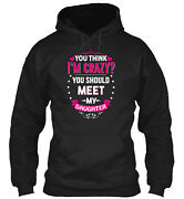 Meet My Daughter Classic Pullover Hoodie - Poly/cotton Blend By Le Van Hong Nam