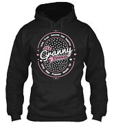Granny Thing Vintage Classic Pullover Hoodie - Poly/cotton Blend By Teegor