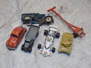 Vintage Miscellaneous Diecast And Cast Iron Toy Vehicle Parts/accessory Lot