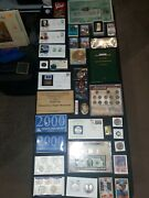 Coin Lot Collection Mint Sets Old Silver Certificate Gp Bar Proof Nojunk Drawer