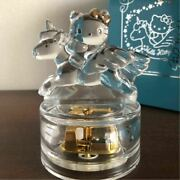 Hello Kitty 25th Anniversary Collection Crystal Music Box Can You Celebrate