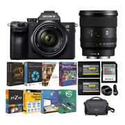 Sony Alpha A7 Iii Mirrorless Digital Camera With 28-70mm And 20mm Lens Bundle