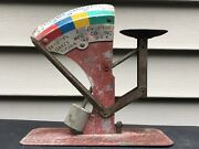 Vintage Oakes Mfg Co. Egg Scale Farmhouse Made In Tipton Ind Usa