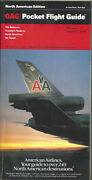 Oag Official Airline Guide North American Pocket Timetable 8/1/91 [1031]