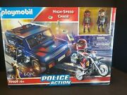Playmobil Police Action High Speed Chase Toy Building Set 70464 60pcs