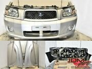 Used Jdm Subaru Forester Sg Front End Nose Cut Crossport Grey