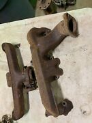 1970-73 Plymouth Duster Demon 340 Pair Of Exhaust Manifolds