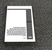 Case 1280 1280b 1285 1286 1450 Machine Specifications Service Manual 8-67584