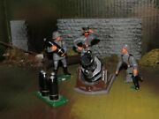 Rare Holt Lead Toy German Toy Soldier Heavy Mortar Team-1980-90