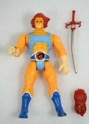 Vintage 1985 Ljn Thundercats Lion-o Figure Near Complete With Sword And Glove