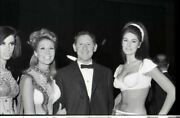 Jack Gilford With Sexy Busty Women Forum Launch Party Original 35mm Negative
