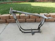 1972 Harley-davidson Xl-xlh-1000 Sportster Motorcycle Frame Chassis 3a21564h2