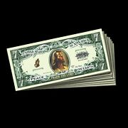 Praise The Lord Jesus Funny Play Money Novelty Note Lot Of Five