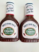 Sweet Baby Rayand039s Honey Chipotle Barbecue Sauce 2-pack 18 Oz Bottles Free Ship
