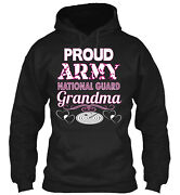 Proud Army National Guard Grandma Classic Pullover Hoodie - Poly/cotton Blend
