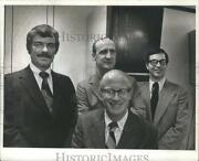 1974 Press Photo Paul S. Connolly And Other New Officers Of Milwaukee Bond Club