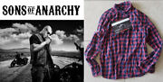 Sons Of Anarchy Soa Theo Rossi As Juice Shirt W/fx Studio Coa