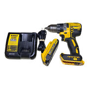 Dewalt 20v Max Xr Lithium-ion Brushless Cordless 1/2 In Drill, Battery And Charger