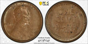 1909 S Vdb 1c Lincoln Wheat Cent Pcgs Ms 62 Bn Uncirculated Key Date
