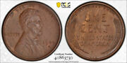 1909 S Vdb 1c Lincoln Wheat Cent Pcgs Au 58 About Uncirculated Key Date