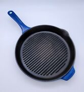 Copco Enamel Cast Iron 11 Grill Pan Skillet Michael Lax Denmark Fry Griddle