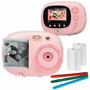 Crafty Cam Best Gift For Boys Girls Kids Instant Print Camera And Video Camcorder
