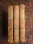 The Mysteries Of Udolpho By Anne Radcliffe Three Vols 1834 Classic Gothic Horror
