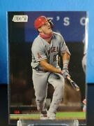 2021 Topps Stadium Club Mike Trout Sp Image Variation 200 Pearl White Angels