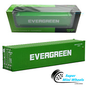 Mini Gt 164 - 40' Dry Container Evergreen Green Full Diecast Metal Ac08