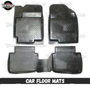 Car Mats Floor Set All Weather Rubber Front Rear Liner Heavy Duty Suv Auto Truck