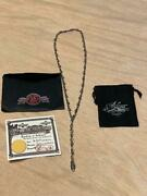 Bill Wall Leather 25th Necklace N879 Skull Bill Small